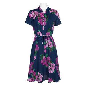 NANETTE LEPORE blue floral dress, 8.